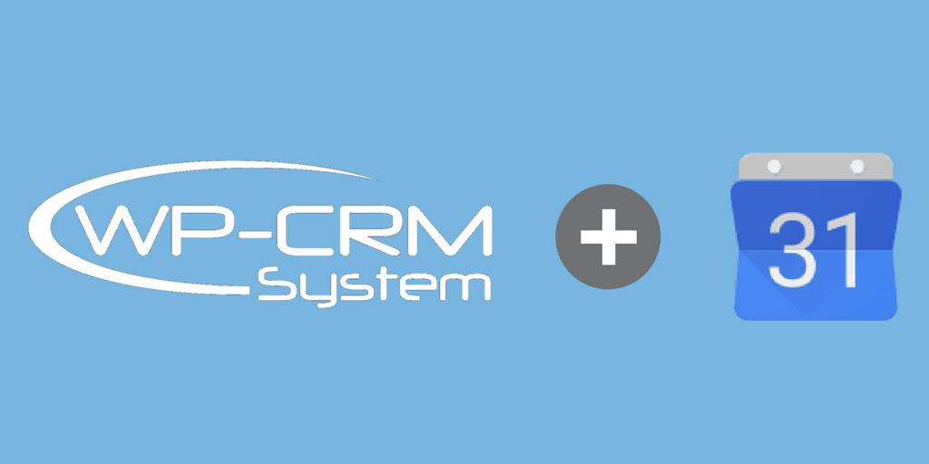 WP-CRM System Plus Google Calendar