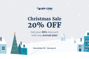 WP-CRM System Christmas Sale Discount