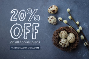 WP-CRM System Easter Sale Discount