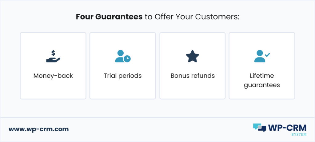 Four Guarantees to Offer Your Customers