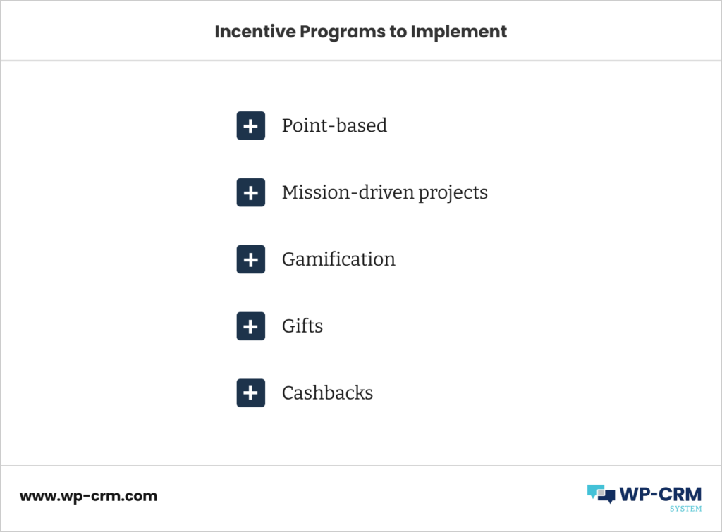Incentive Programs to Implement