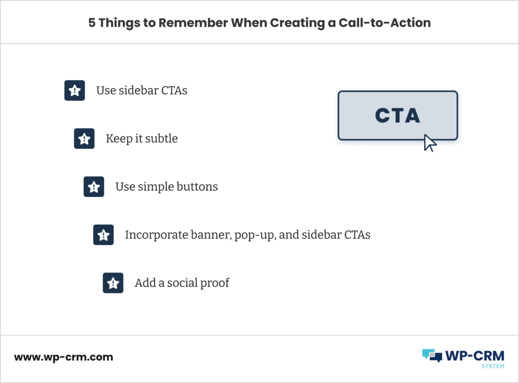 5 Things to Remember When Creating a Call-to-Action