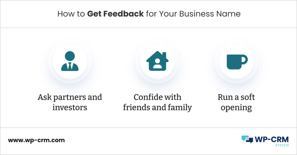 How to Get Feedback for Your Business Name