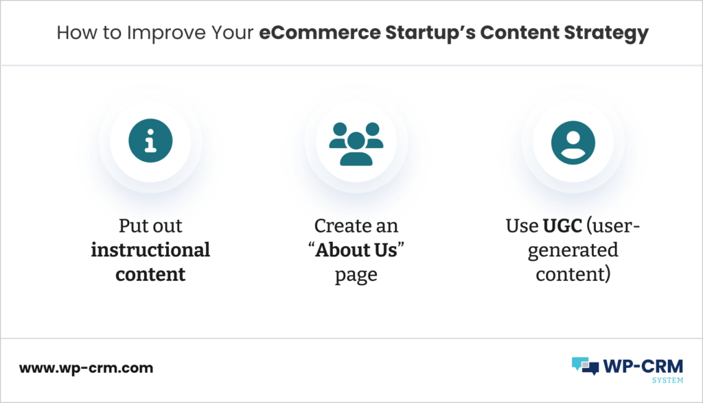 How to Improve Your eCommerce Startup's Content Strategy
