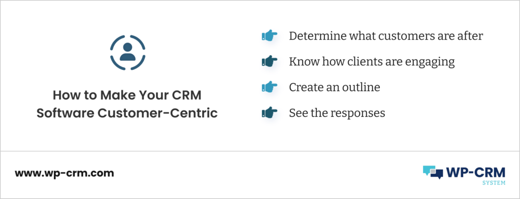 How to Make Your CRM Software Customer-Centric
