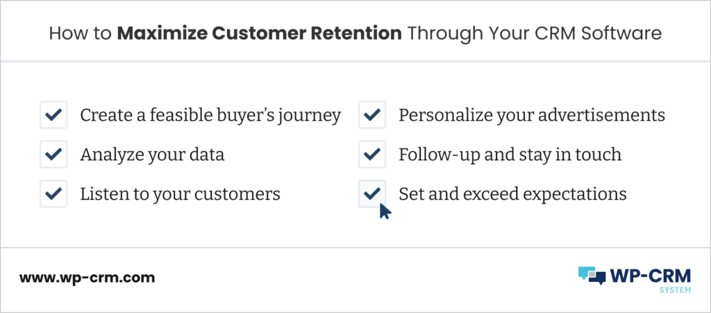 How to Maximize Customer Retention Through Your CRM Software