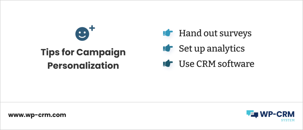 Tips for Campaign Personalization
