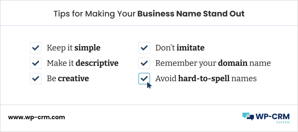 Tips for Making Your Business Name Stand Out