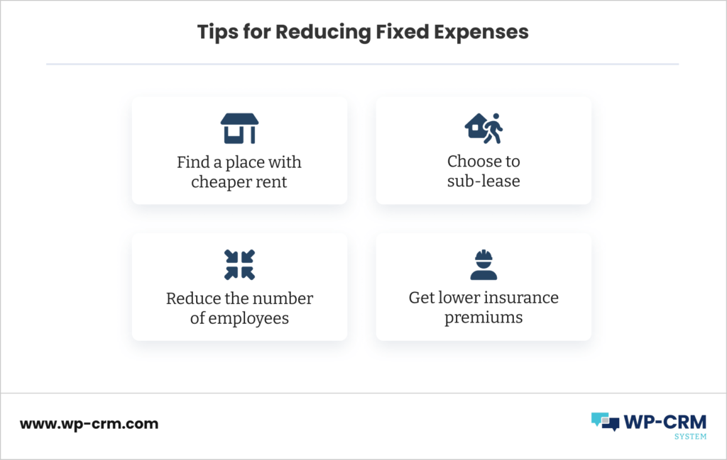 Tips for Reducing Fixed Expenses